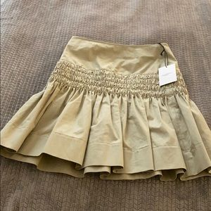 Beige size 34 Isabel marant skirt NEW with tags